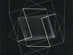 """Despite Straight Lines"", 1961  By: JOSEF ALBERS"