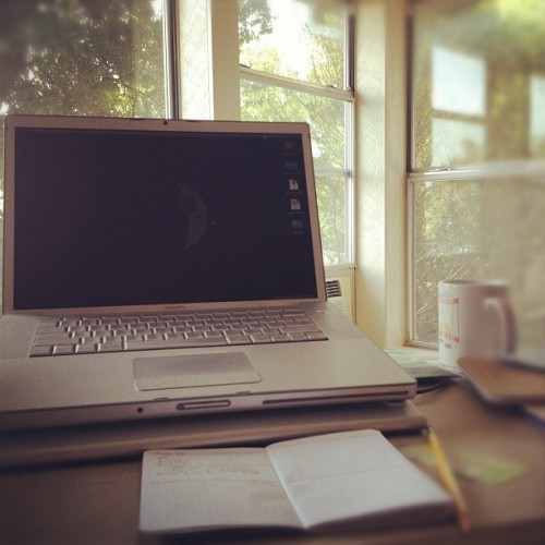 Today's office.  (Taken with Instagram)
