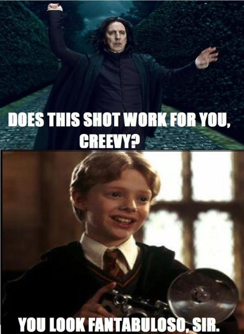 Pose it Alan!!!! … *Cough* i mean Severus ;D