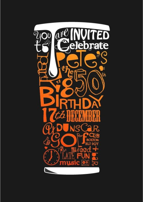 rawbdz:  Flyer for birthday invite. Copyright Mayfly Design mayflydesign.carbonmade.com