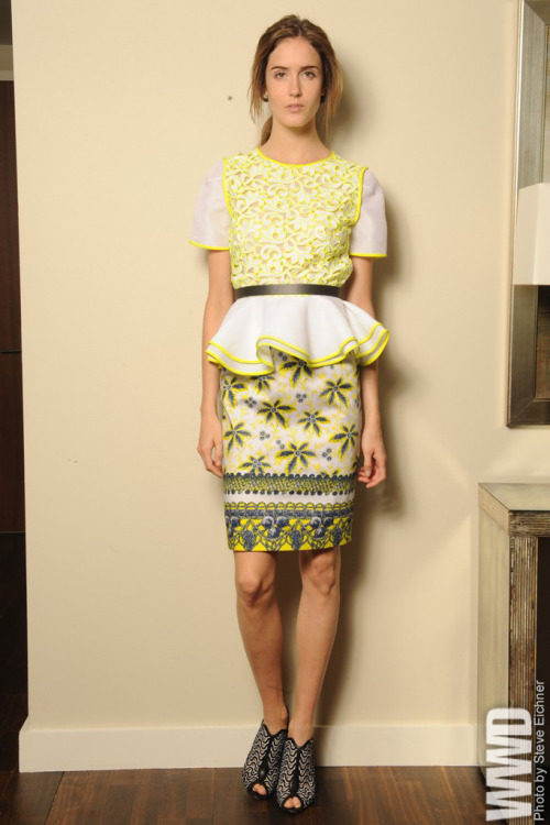 Resort '13 Trend: Getting Graphic Prabal Gurung Resort 2013