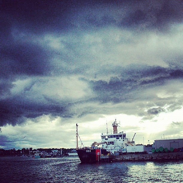 It's a stormy day in #Maine. (Taken with Instagram)