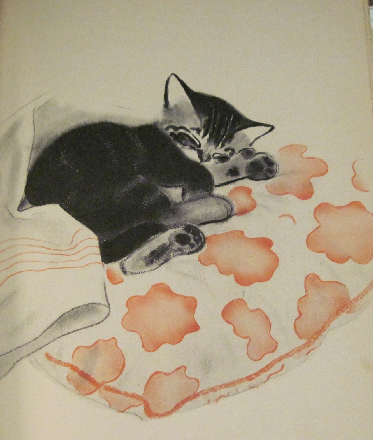 kittehkats:  from Mittens by Clare Turlay Newberry