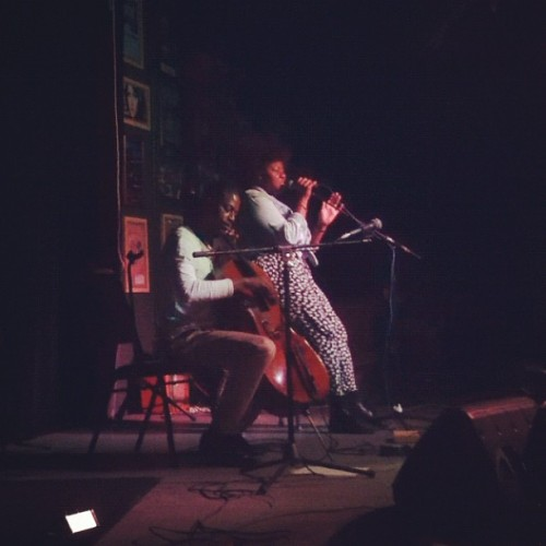 Last night! :) Malcolm Parson & I 🎶😄 (Taken with Instagram)