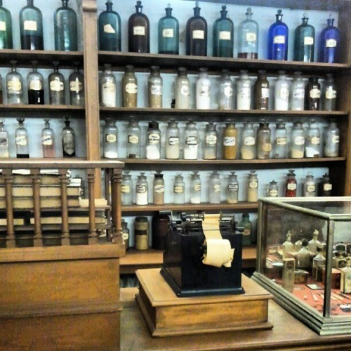 markzoetrope:  #Apothecary at #museum of #surgical #science (Taken with Instagram)