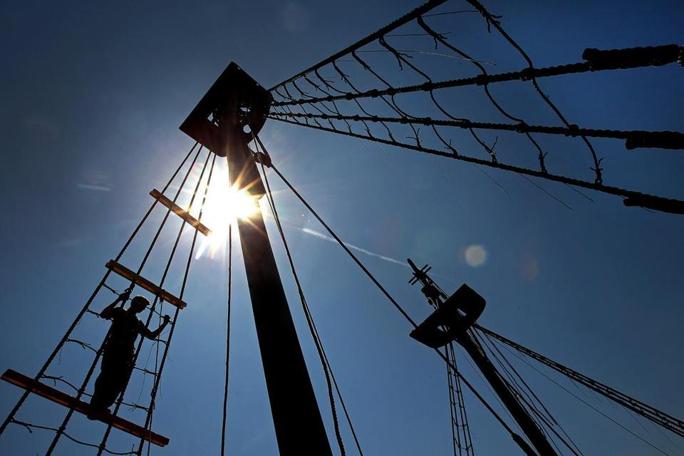 New Boston Tea Party Museum opens to a different world  As the Boston Tea Party Ships & Museum reopens its doors to the public, it will do so as the co-owner of its iconic brand. (DAVID L RYAN/GLOBE STAFF)