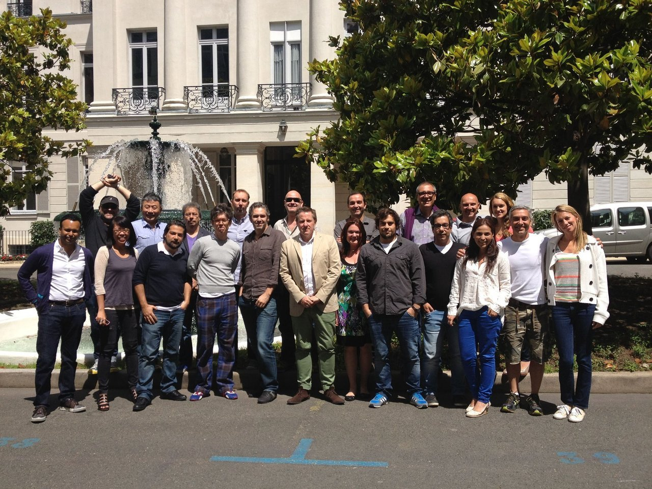 The great minds of our Creative Council meet together at our Paris office - Lowe Strateus.