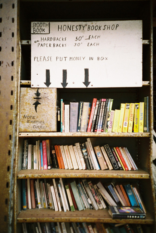 13neighbors:  Honesty book shop (by World of Oddy)
