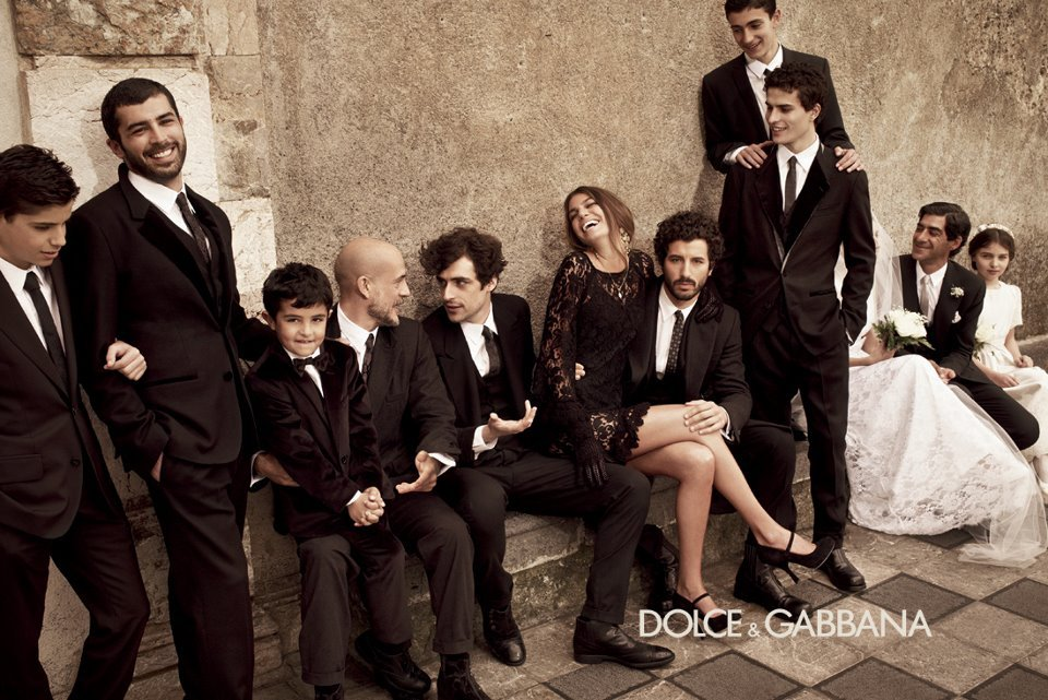 Dolce&Gabbana FW13 Men's adv campaign by Mariano Vivanco