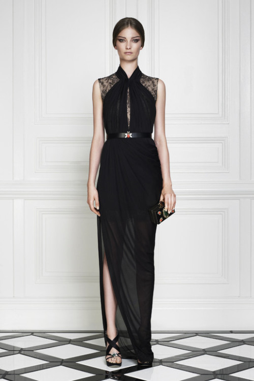 What would Arianne wear?A partially sheer Jason Wu Resort 2013 gown.