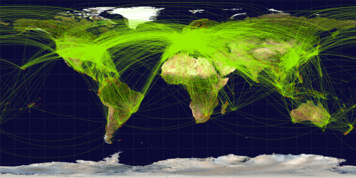 International Route Map…..