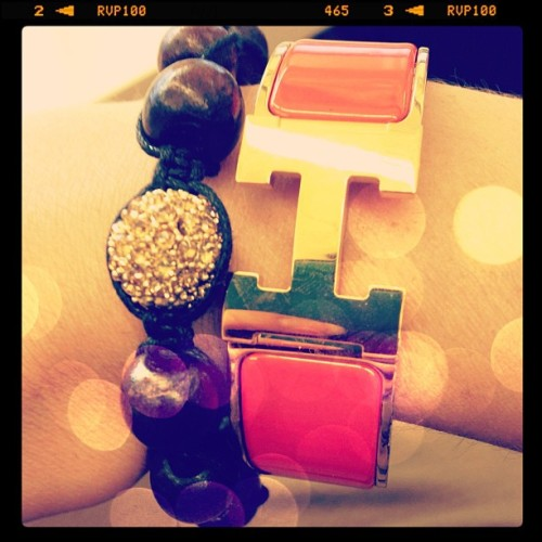 #armparty @baublebar @hermes_paris #jewels #jewelry #style #mystyle #whatiwore #whatimwearing #wiw #fashiondiaries #blog #followme #instastyle #instafashion #photooftheday #intsapic #picoftheday  (Taken with Instagram)