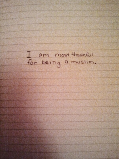 islamic-quotes:  Thankful