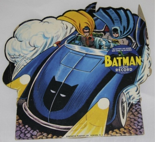 Vintage Batman record