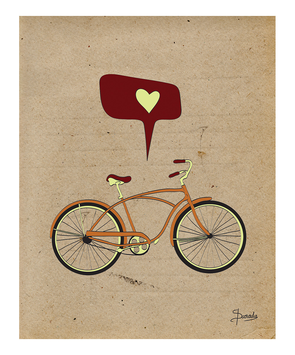 Parada Creations on zulily: Have a heart. Printed on heavyweight, archival-quality luster paper with professional, fade-resistant pigment inks, this piece lets little ones and adults alike honor their favorite things.