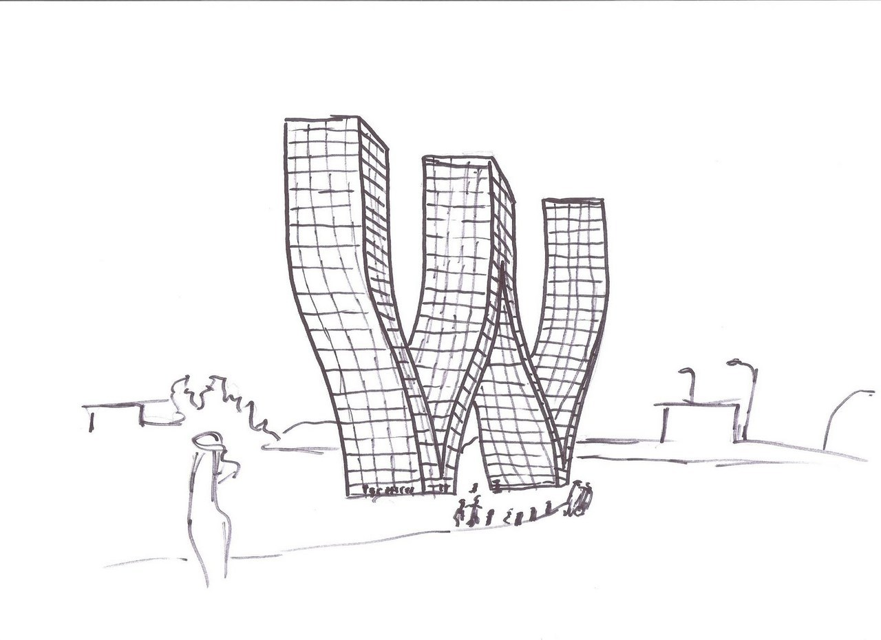 BLACK & WHITE SKETCHES | 776 | Bjarke Ingels Group | SOURCE