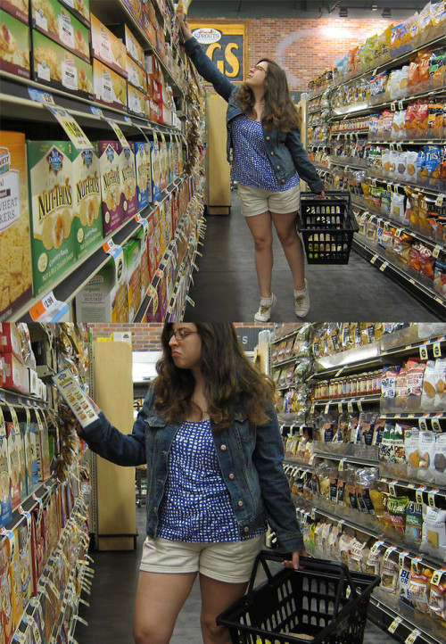 Grocery shopping (by Rebecca A.)