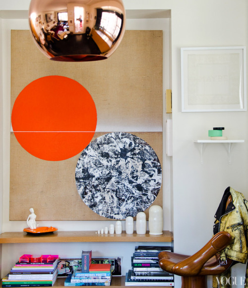 vogue:  APT with LSD: Inside Kyle DeWoody's New York Home Go to Vogue.com to see the slideshow.