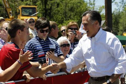 "Photo credit: Charles Dharapak, AP Republican presidential candidate Mitt Romney made a campaign stop in the western Virginia town of  Salem on Tuesday, just two days before the Supreme court will rule on the constitutionality of President Obama's health-care law. Romney said the Supreme Court ruling will represent the failures of Obama. Continuing his recent criticism of Obama's policy priorities, Romney focused on ""Obamacare"" and slammed the president's first term as being a ""waste."" ""If it is deemed to stand then I'll tell you one thing, we are going to have to have a president, and I am that one, that is going to get rid of Obamacare and we are going to stop it on day one,"" Romney said to a cheering crowd of supporters. Romney will campaign in northern Virginia's Loudoun County on Wednesday. Read more from the Washington Examiner."