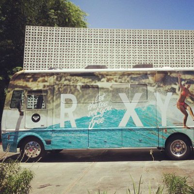 catastrophic-cataclysm:  Roxy's surf van