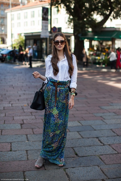 what-do-i-wear:  Iris (image: stockholmstreetstyle)