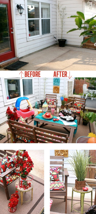 Blogger Cassity at Remodelaholic creates a pattern perfect patio using our products. Check out the entire post here http://bit.ly/LMZ9tg