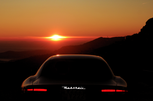 johnny-escobar:  Maserati + Monaco sunset