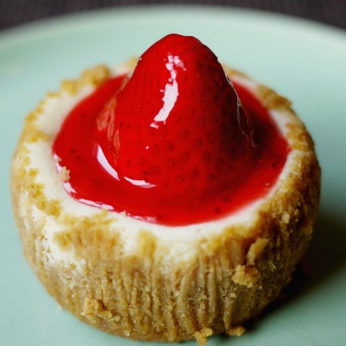 "Find out where to get this mini strawberry cheesecake and other NYC ""best"" eats by clicking through :)"