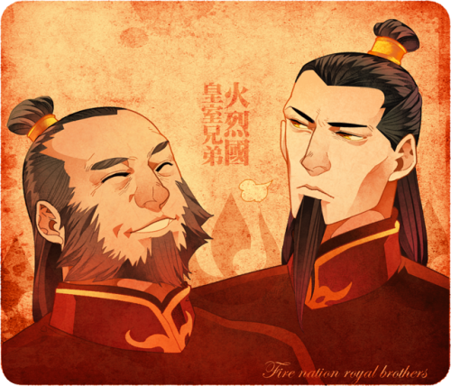 Fire Nation Brothers by freestarisis