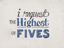 nevver:  The Highest of Fives
