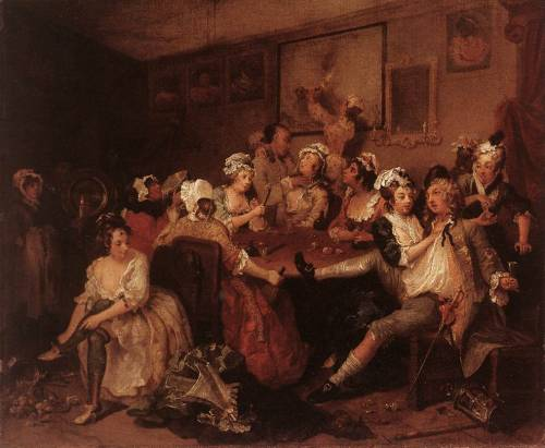 HOGARTH, WilliamThe Orgyc. 1735Oil on canvas, 62,5 x 75 cmSir John Soane's Museum, London