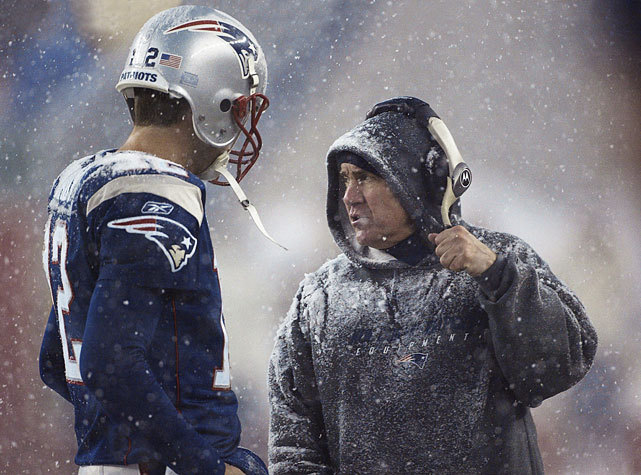 Bill Belichick, Tom Brady and the Patriots were leading the Giants 17-15 late in the fourth quarter of Super Bowl XLVI when the Giants staged a memorable comeback to capture the championship. SI's Chris Burke thinks New England remain the favorites in the AFC East and have enough talent to reach the Super Bowl. (Damian Strohmeyer/SI) BURKE: Offseason Breakdown: New England PatriotsGALLERY: Rare Photos of Tom Brady | Bill Belichick