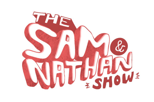preview of a design for a logo to a series of live school shows im doing with YouTuber Sam Driscoll, aka sammmydee