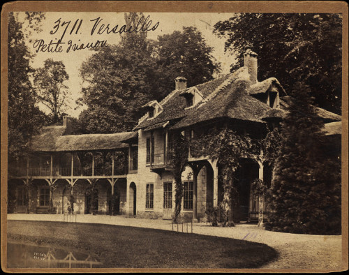 courtroyale:  Vintage photograph of Marie Antoinette's Hamlet Village taken in 1850 by commercial photographer Francis Frith. Victoria and Albert Museum