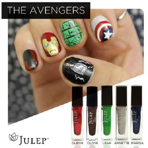Marvel's Avenger Nails!