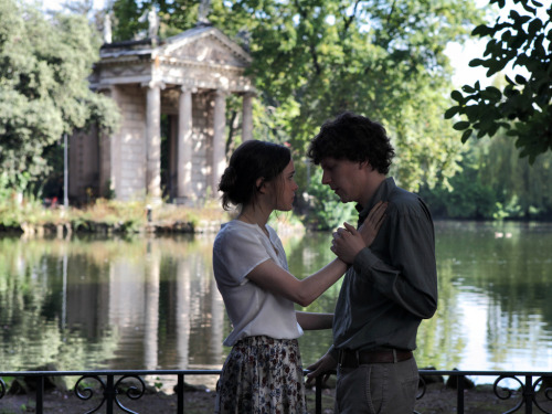 Rome is the Real Star of Woody Allen's To Rome with Love | Ellen Page and Jesse Eisenberg at the Laghetto Villa Borghese
