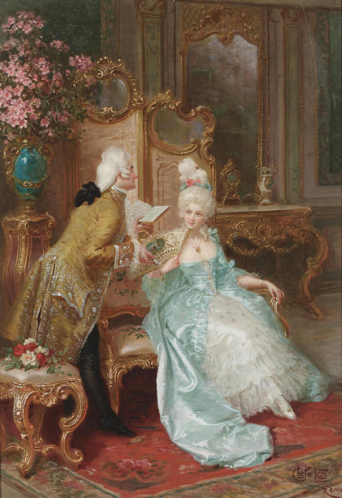 monsieurleprince:  Cleto Luzzi (1884-1952) - The admirer