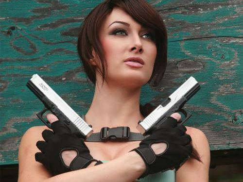 geektyrant:  LARA CROFT Takes Aim at Her Enemies in These Stunning Cosplay Photoshttp://rant.to/MSDceS If another Tomb Raider movie was made, would you stick with Angelina Jolie or get a new actress? Who would that be?