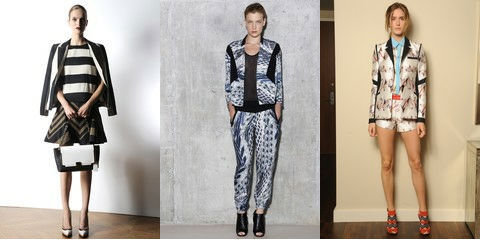 Top 5 Trends of 2013 according to WWD We are head over heels for these printed jackets popping up on the style radar. Nod to the true trendsetter Fresh Prince of Bel Air that made paisley blazers cool back in the 90s! Racked predicts the easiest trend to sport, dresses over paints, will finally make it off the runway and onto the street. Check out the link to get ahead of the curve.