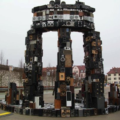 """tip of the hat to Aneek Thapar for this fine example of …uh…Tonehenge?"" (via Facebook Coldcut)"