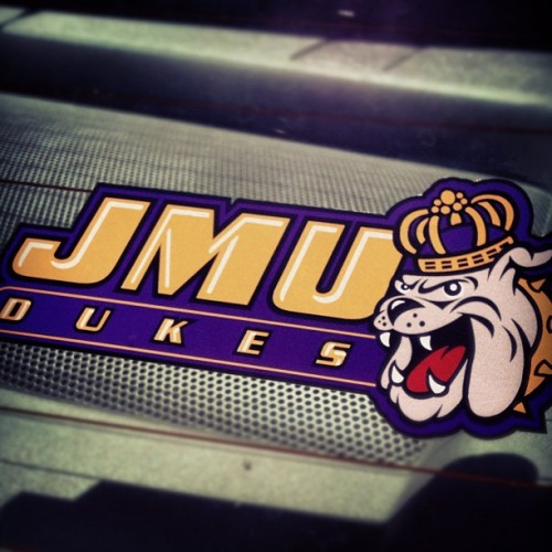 So glad I earned my spot into the college of my dreams! #JMU #Dukes 💜💛 (Taken with Instagram)