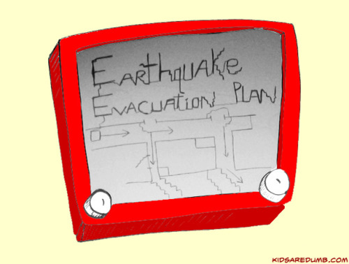 I think I'm going to start thinking of the self as an 'Earthquake evacuation plan on an etch-sketch.' We may cling to it for comfort, but under closer scrutiny we realize how silly that is, that don't need it, that we can be free without it, and that we should not depend on it. Helen Keller reminded us that security is mostly a superstition. If we understand the impermanence of life, then anything we rely on or cling to for support and comfort can also disintegrate. We know nothing lasts forever but habitually ward off any sense of a problem and are surprised when 'shit happens,' like when we lose our health or lose a loved one.     Fortunately its those difficult times that can be our teacher. Pema Chodron wrote in When Things Fall Apart that:   The only time we ever know what's really going on is when the rug's been pulled out from under us and we can't find anywhere to land.   We can use these situations either to wake ourselves up or to put ourselves to sleep. Right now—in the very instant of groundlessness—is the seed of taking care of those who need our care and of discovering our goodness…  When my marriage fell apart, I tried hard—very, very hard—to go back to some kind of comfort, to some kind of security, to some kind of familiar resting place. Fortunately for me, I could never pull it off. Instinctively I knew that annihilation of my old dependent, clinging self was the only way to go.  So by letting go, rather than depending on, this fragile illusion of self we can free ourselves from suffering.
