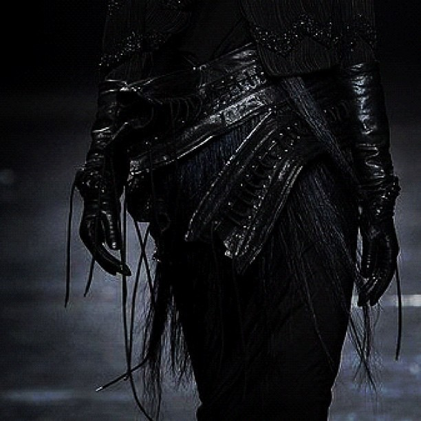 .something rad #anndemeulemeester #fw12 #fashion (Taken with Instagram)