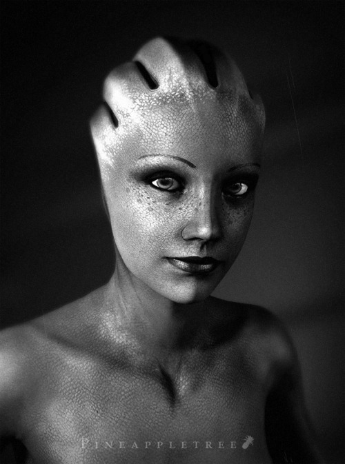 tamojojtam:  A Photographer on the Citadel - Liara Portrait by *pineappletree