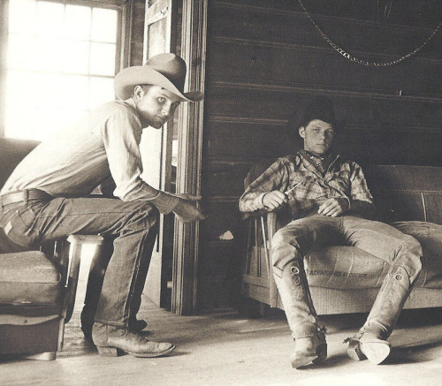 thirtymilesout:  Some boy's from the Double Trouble Ranch