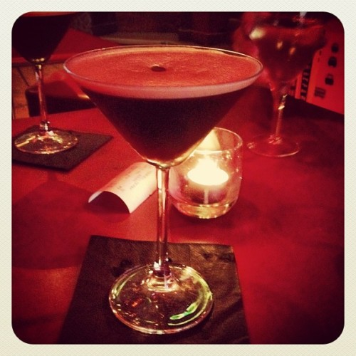 #espresso #martini in #Tabac #Liverpool (Taken with Instagram at Café Tabac)
