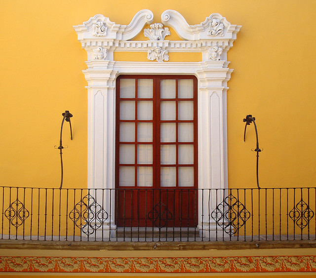travelingcolors:  Sumptuous window, Puebla | Mexico (by Alicia Guzmán Moya)