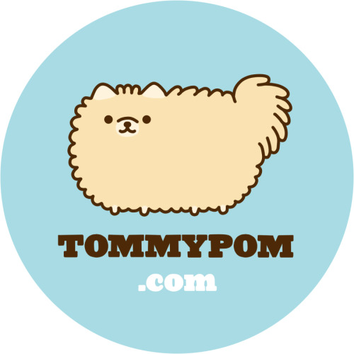 tommypom:  In celebration of the upcoming 50,000th follower i've been lucky to get help from Pusheen, and Zack of the Tumblr Ministry of Design to make this pomtacular sticker! Would you like some? I'll just ask you send me a return self-addressed envelope and i'll do my best to send some back to you.. FOR FREE!!! This is my thank you to all of you.. you're the BEST! Address info coming soon! Reblog, and stay near for the info!! ^_^ Your sticker pal, tommypom P.S. — be sure to reblog! I will be picking 10 random rebloggers and mailing them stickers before any one else gets them!!  I SQUEEZE YOU EVERY NIGHT IN MY DREAMS <3
