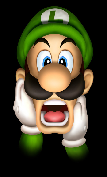 My friend's 7 year old daughter told me that Luigi's mustache looks like a bra. I can never unsee it.