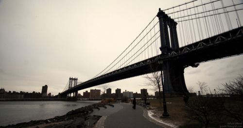 Manhattan Bridge - New York - ABD 03.01.2010